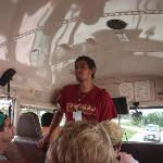 Greg, the best tour guide ever!