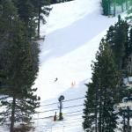 Lone snowboarder. What great solitude.