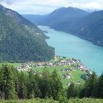 Pertisau am Achensee (Aussicht vom Karwendel aus)