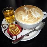 Cappuccino at Black Canyon Coffee