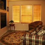 The Country Suite sitting area is a warm cozy place to relax.