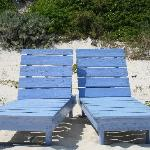 Romora Bay beach chairs