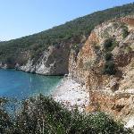 der nahegelegene Strand