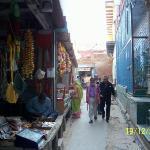 The Kunj Gali's of Brindaban