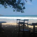 Sea Fresh Restaurant outside Paradise