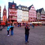 Here is frankfurt, deutschland...