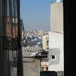 Aussicht von unserem Zimmer