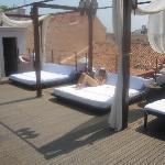 terraza paratomas al sol