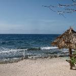 Beach in front of Utopia