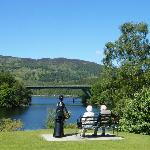 Views from Pitlochry, The Green Park Hotel