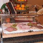 voorbeeld van het buffet