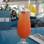 Delicious rum punch