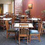 Breakfast eating area