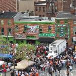 Pics of Pickles from the top of Camden Yards