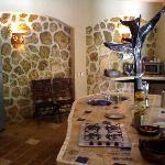 cosina de guesthouse las piedras