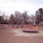 Petrified Forest KOA playground