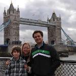 Tower Bridge next to Tower of London