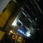 night look from street.