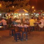 Nathong night market, great food very cheap