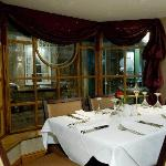 Private dining in intimate surroundings