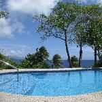 swimming pool and sea