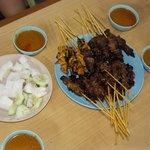 zaini satay - chicken and beef