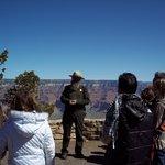 Ranger-led talk at Grand Canyon