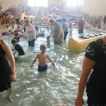 The Toddler pool, nice, but way to overcrowded.