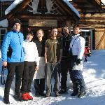Our group with some of the Skoki staff