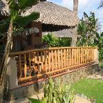 #44 villa balcony - very private!