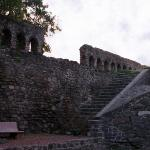 A part of the fort wall