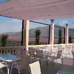 El Cuadro Patio and Landscape View