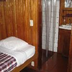 Budget Cabin #10 - bunk beds and perfect for one person