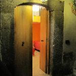 Mini Apartment Entrance from Patio Garden
