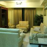 数部屋の宿泊者で共同使用できるリビング・スペース。