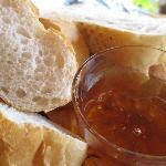 homemade honey with bread