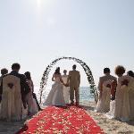 The wedding location