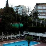 Pool and terrace (April 2010)