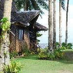 Nice but simple Nipa houses