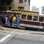 Cable cars to help get back up the hill!
