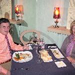 Cena en S,pedro restaurante