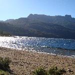 Playa Lago Folkner. Camino de los 7 Lagos