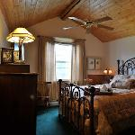 Luxurious guest rooms with fine linens and private baths.
