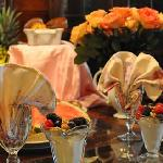 Delicious breakfasts at the Ponderosa Lodge