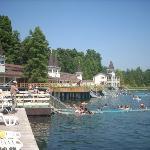 Heviz y su lago de aguas termales. Olor a azufre y agua a 37ºC!!