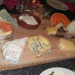"The Cheese Platter with the ""stinky"" cheese"