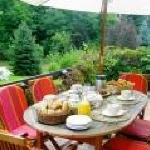 Petir déjeuner sur la terrasse