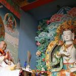 Statue of Dilgo Khyentse Rinpoche.