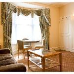 Whitehall superior suite lounge