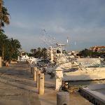 Harbor in Puerto Aventuras